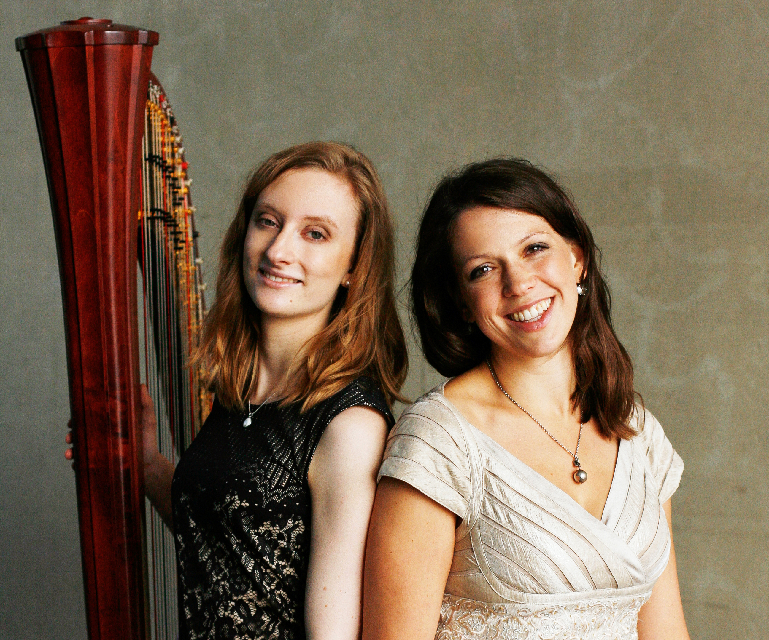 Canta Orpheo Duo Sopraninstin Elisabeth Menke und Harfinistin Christina Buchsbaum