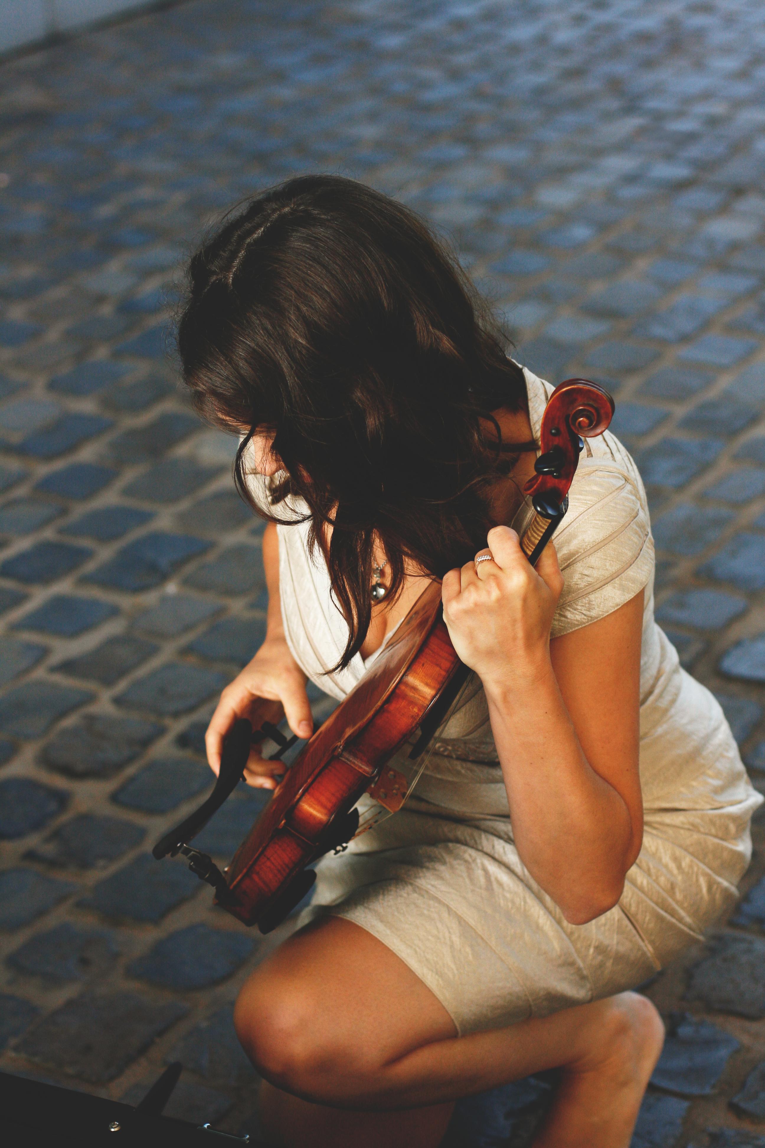 Elisabeth Menke Improvisation Geige